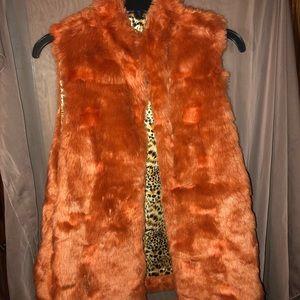 Jackets & Blazers - Plush faux fur vest